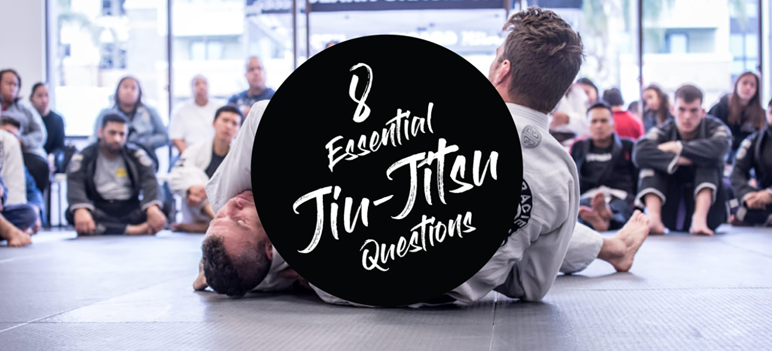 8 essential questions about jiu-jitsu